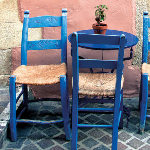 Greek Pair of Chairs by Scott Dunwoodie