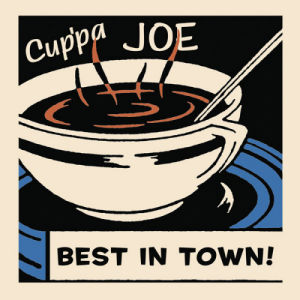 Cup'pa Joe Best in Town by Retro Series