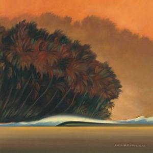 Under a Red Sky I by Wade Koniakowsky