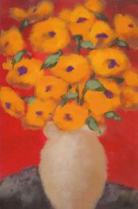 Saffron Blossoms by Onan Balin