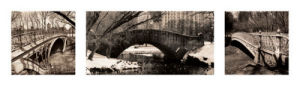 Central Park Bridges (tryptych) by Christopher Bliss