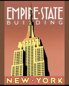 Empire State Building by Brian James