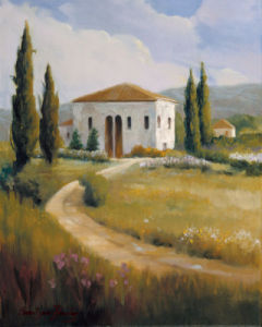 Tuscany Afternoon by Carolyne Hawley