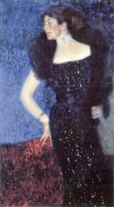 Portrait of Rose von Rosthorn-Friedmann by Gustav Klimt