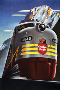 Canadian Pacific Railroad by Vintage Poster