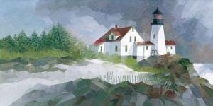 Harbor Sentinel by Albert Swayhoover