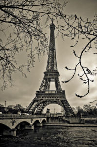 Curves of Eiffel by Sabri Irmak