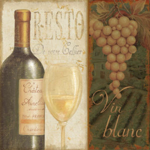Wine List II by Daphne Brissonnet