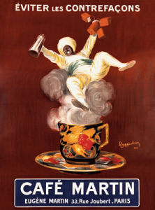 Cafe Martin by Vintage Posters