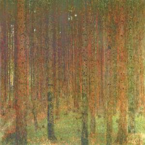 Tannenwald II by Gustav Klimt