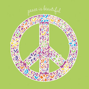 Peace is Beautiful by Erin Clark