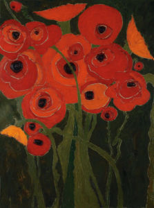 Wild Poppies by Karen Tusinski