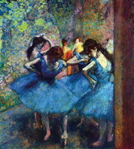 Ballerinas by Edgar Degas