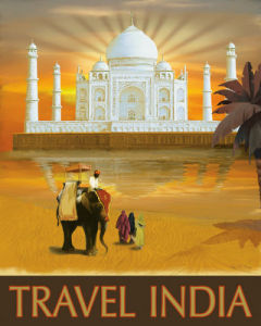 Travel India by Kem McNair