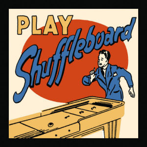 Play Shuffleboard by Retro Series