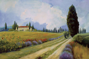 Holiday in Tuscany by Carolyne Hawley