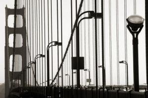 Golden Gate Bridge in Silhouette by Christian Peacock