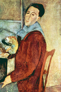 Self Portrait by Amedeo Modigliani