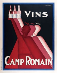 Camp Romain by Vintage Posters