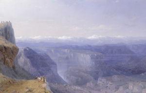 The Caucasus, 1868 by Ivan Konstantinovich Aivazovsky