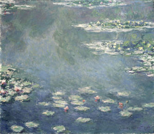Nympheas, 1906 by Claude Monet