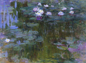 Nympheas, c.1914-17 by Claude Monet
