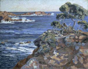 Bord de Mer a Agay, c.1900 by Jean-Baptiste-Armand Guillaumin