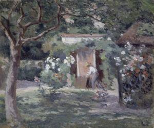 Paysage a Auvers by Maximilien Luce
