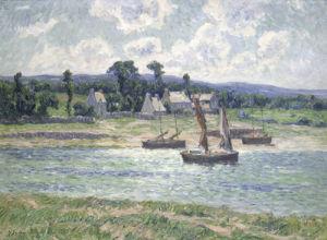 La Riviere du Faou, 1907 by Henry Moret