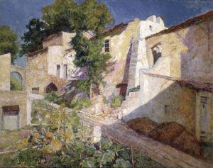 Village Provencale by Victor Charreton