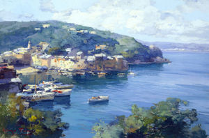 View of Portofino by Italian School