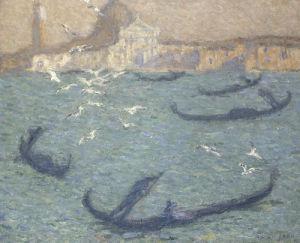 Le Grand Canal, Venise, c.1910 by Edmond Francois Aman-Jean