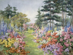 The Garden Walk by Edith Alice Andrews