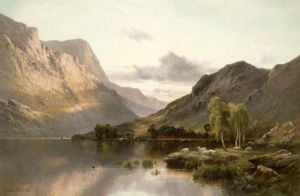 Near Dunkeld, N.B. by Alfred de Breanski