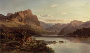 The Western Highlands by Alfred de Breanski