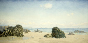 These Yellow Sands, 1880s by John Brett