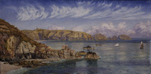Saint's Bay, Guernsey, 1885 by John Brett