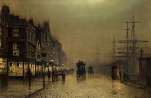 Liverpool by John Atkinson Grimshaw