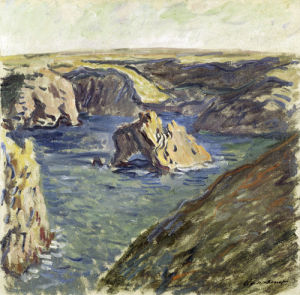 Belle-Ile, 1886 by Claude Monet