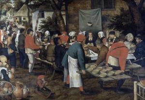 The Peasant Wedding by Pieter Brueghel The Elder