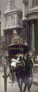 Going to the City by James Jacques Joseph Tissot