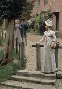 Sally, 1895 by Edmund Blair Leighton