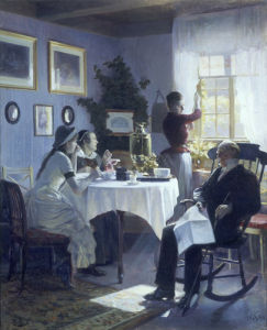 A Sunday Afternoon, 1888 by Carl Thomsen