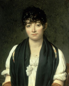 Portrait of Suzanne le Peletier de Saint-Fargeau, 1804 by Jacques-Louis David