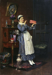 Her Lady's Sweets, 1872 by Pierre Outin