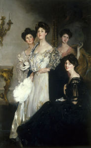 Portrait of the Glen Walker Sisters by John da Costa