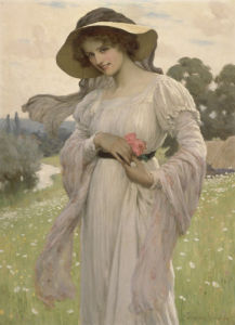 The Young Beauty, 1900 by George Sheridan Knowles