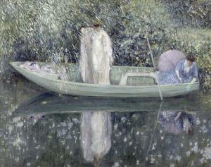 Before the Bath, c.1908-09 by Frederick Carl Frieseke