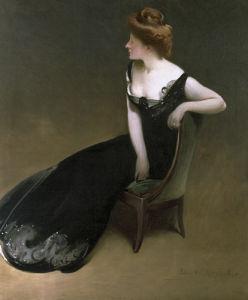 Portrait of Mrs V (Mrs Herman Duryea), c.1900 by John White Alexander