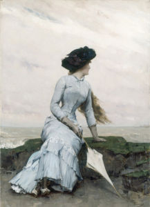 Looking Out to Sea by Charles Hermans